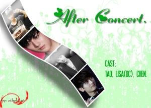after concert